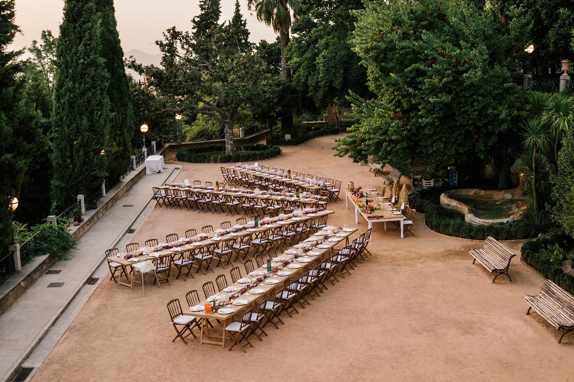 decoración de boda fotógrafo de Málaga wedding