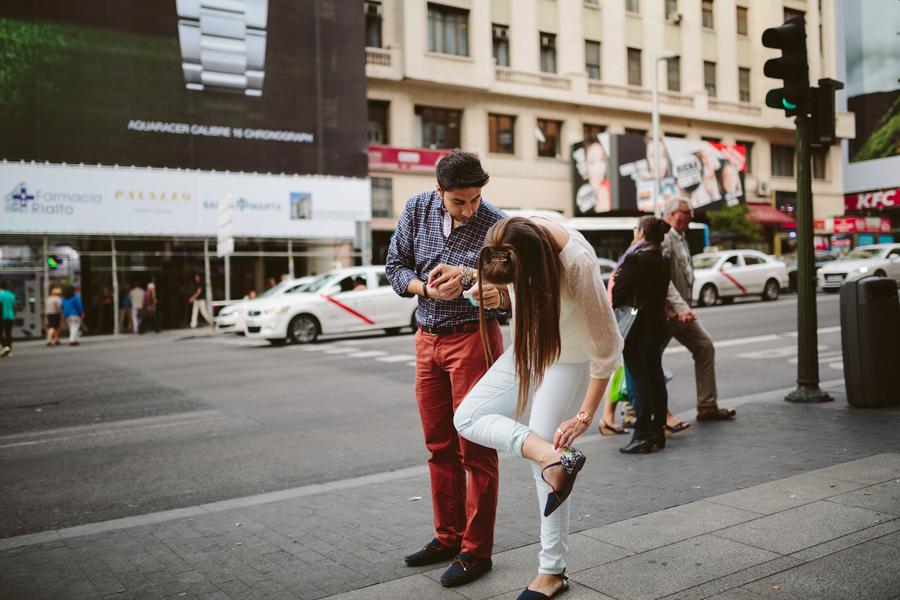 fotografo de boda granada preboda en madrid archidona