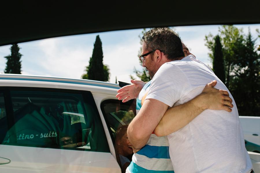 Encuentro con la pareja para su post-boda en Almería