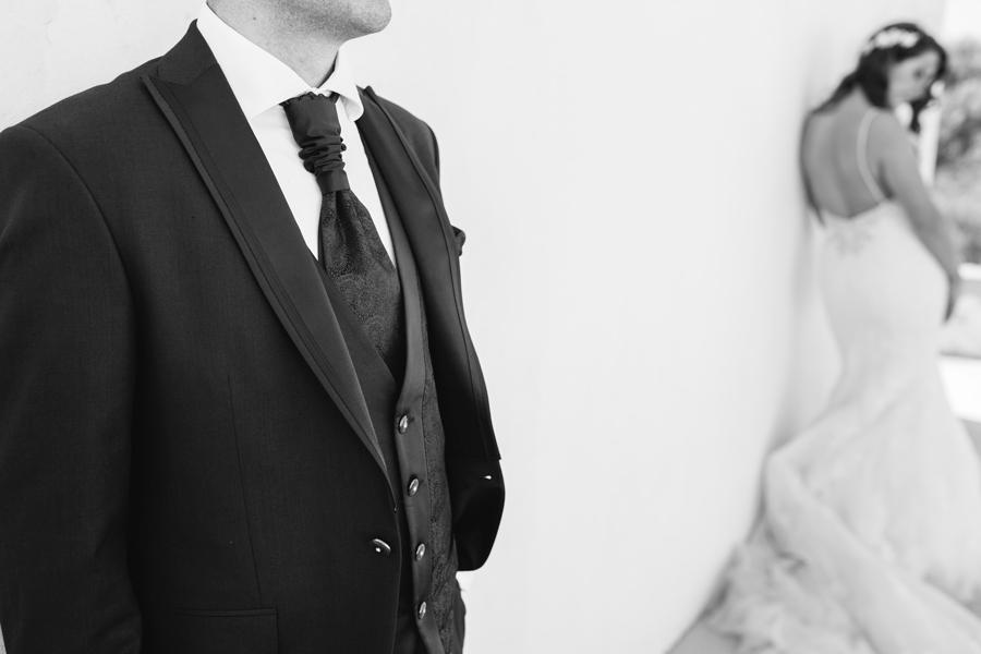 Novio y novia de post-boda en almería (Cabo de Gata)