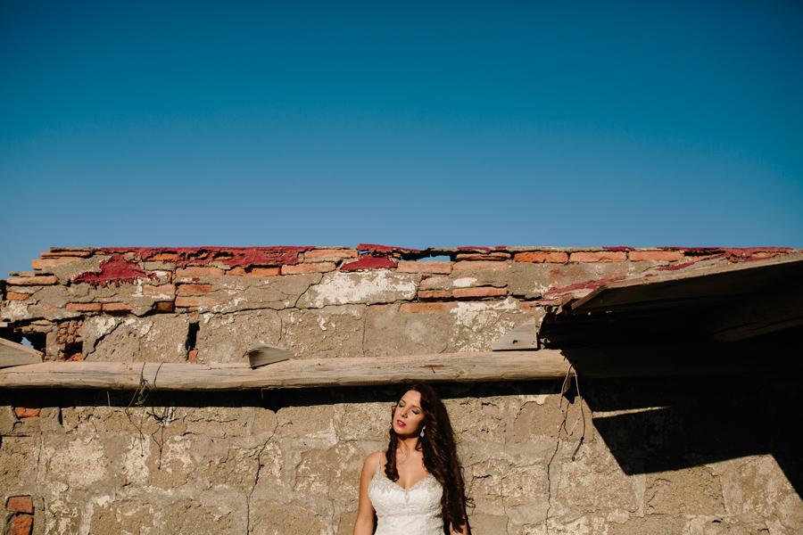 La novia en Cabo de Gata