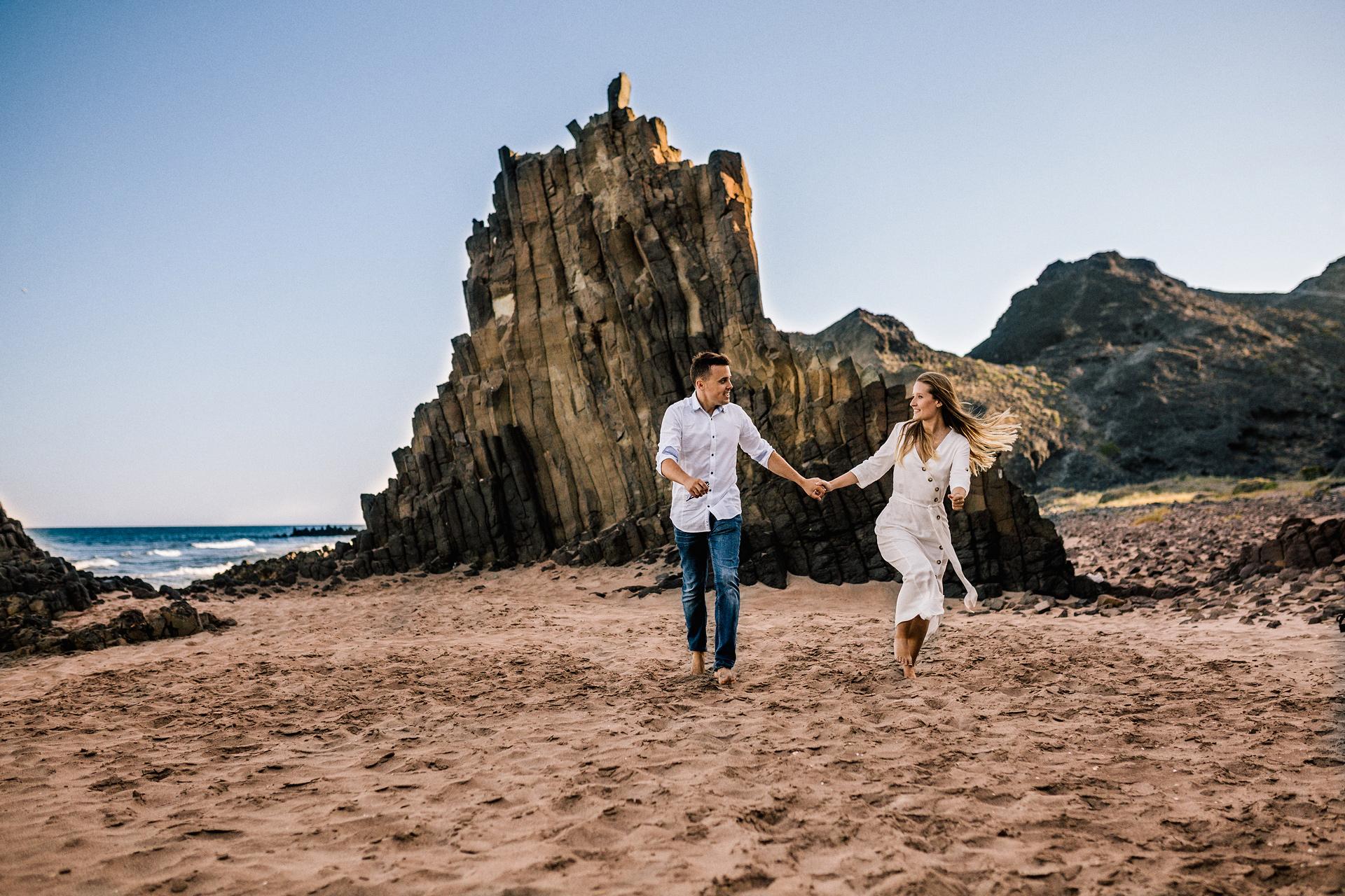 Pre boda en Cabo de Gata (Almería) Sara & Cristiano