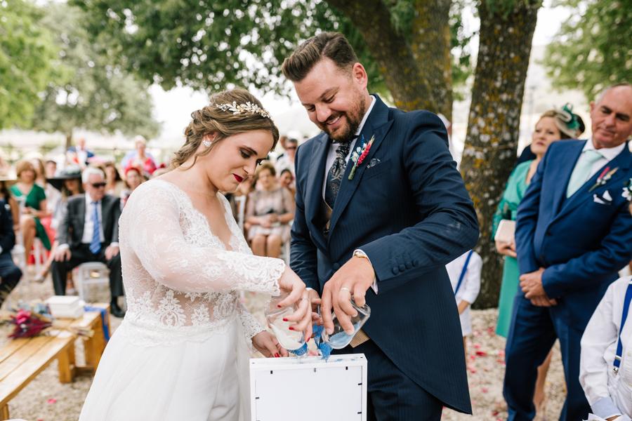 Tipos de ritual de bodas, ritual de la arena, tipos de ceremonias civiles, fotógrafo de boda en Málaga